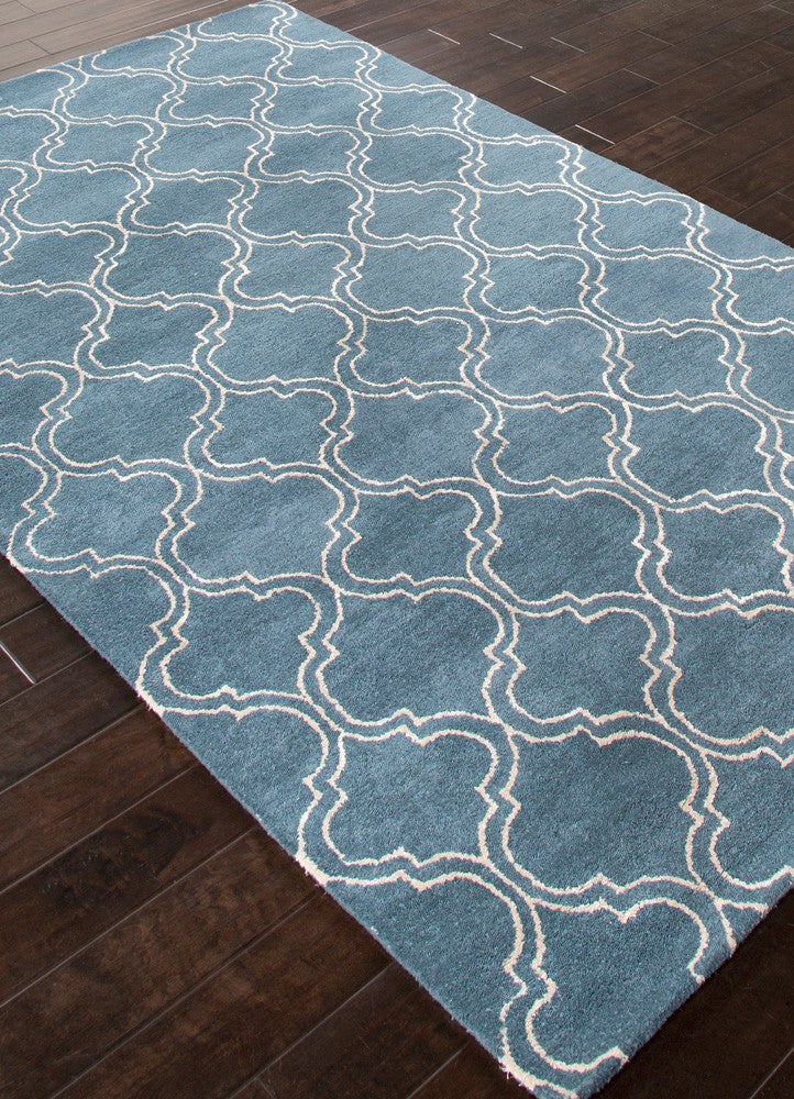 Baroque Hampton Aegean Blue Area Rug