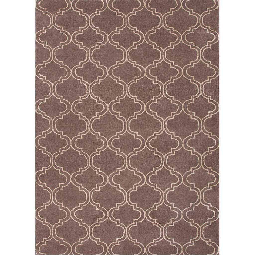 Baroque Hampton Dark Gray/Antique White Area Rug