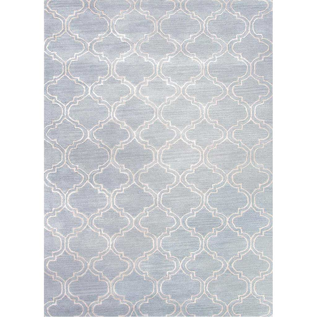Baroque Hampton Sky Blue Area Rug