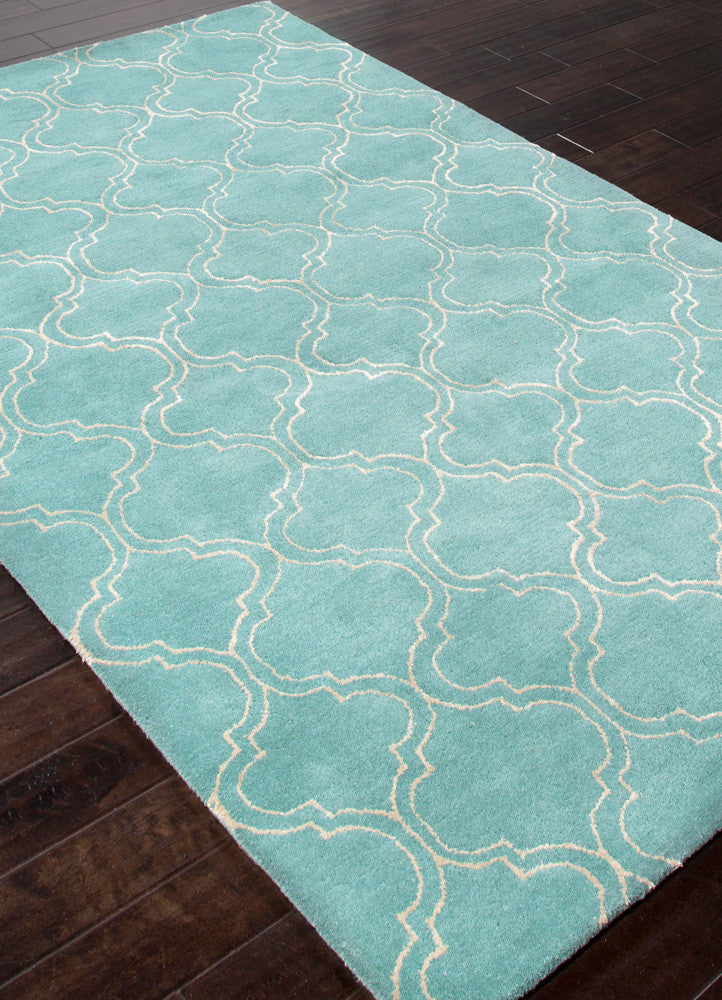 Baroque Hampton Aruba Blue/Antique White Area Rug