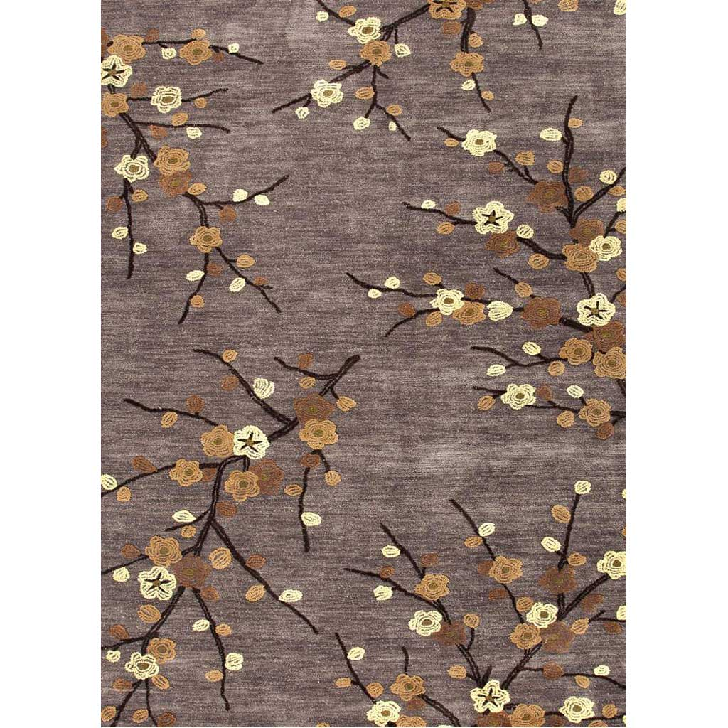 Brio Cherry Blossom Steel Area Rug