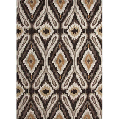 Brio Pattern Play Olive Area Rug
