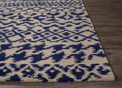 Bristol Clarton Cloud Cream/Bijou Blue Area Rug