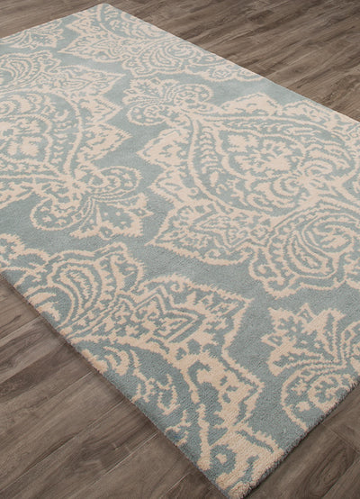 Bristol Mekensa Cloud Cream/Tourmaline Area Rug