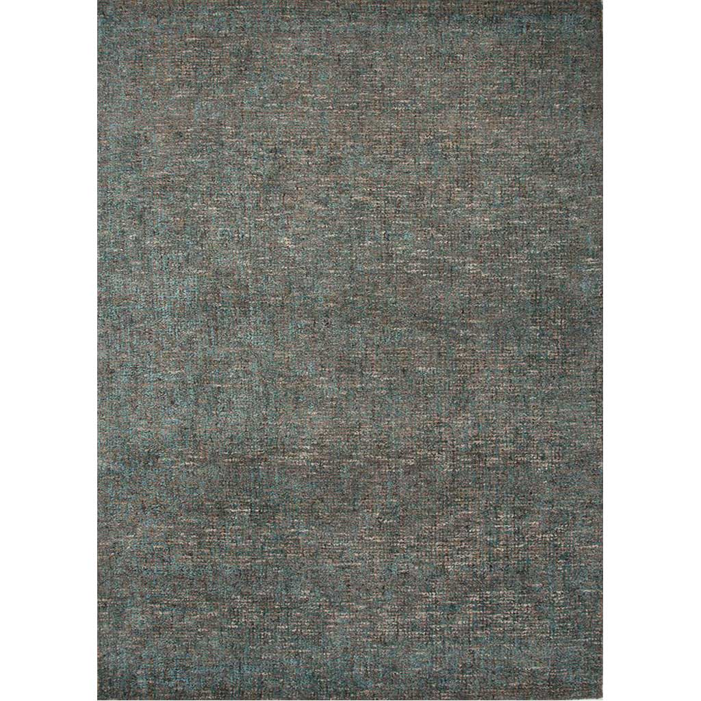 Britta Plus Dark Taupe/Tahitian Blue Area Rug