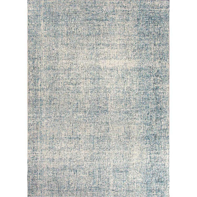 Britta Oland White Ice/Blue Print Area Rug