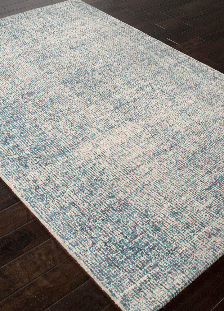 Britta Oland White Ice Blue Print Area Rug Froy