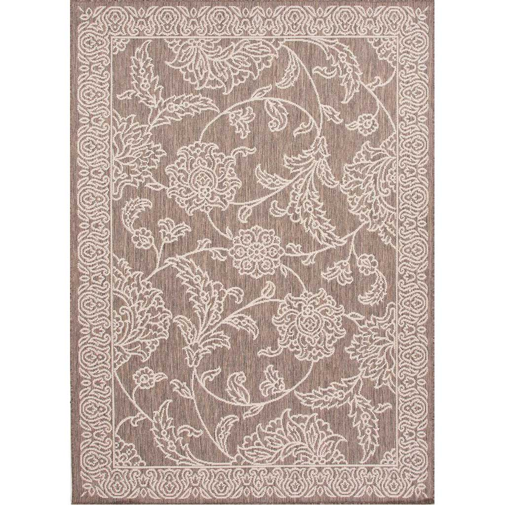 Breeze Posy Birch/Monument Area Rug