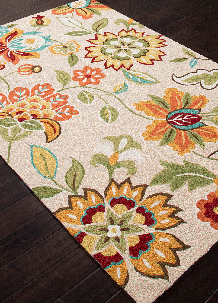 Blossom Botanic Rutabega/Honey Gold Area Rug