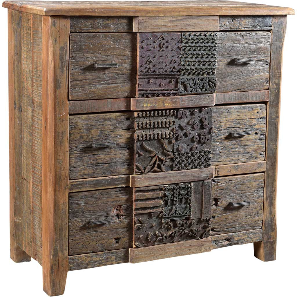 Prairie 3 Drawer Chest