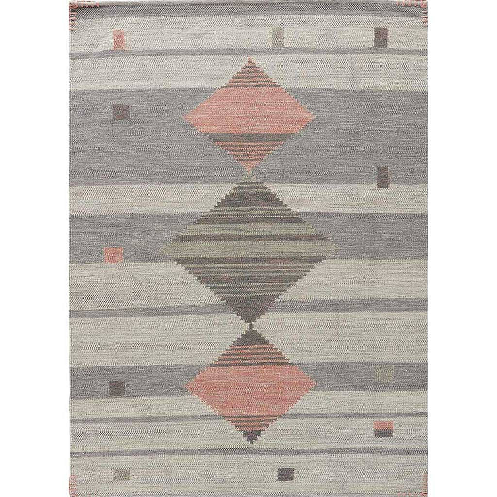 Carolina Meyer Gray/Pink Area Rug