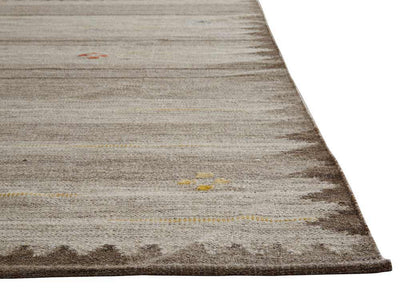 Carolina Dennison Neutral/Brown Area Rug