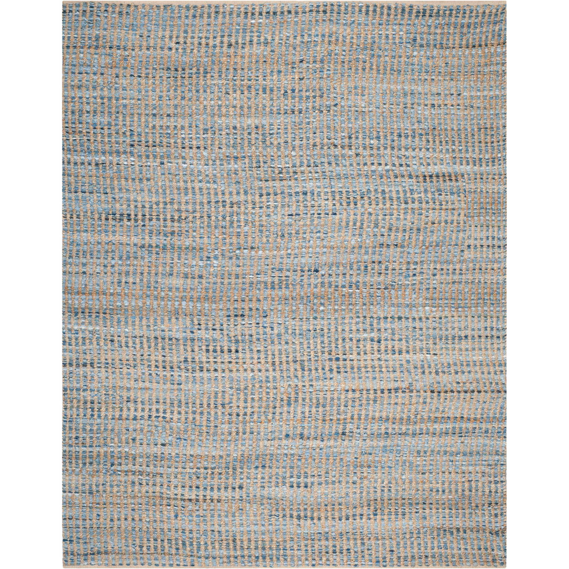 Cape Cod Linear Blue/Natural Area Rug
