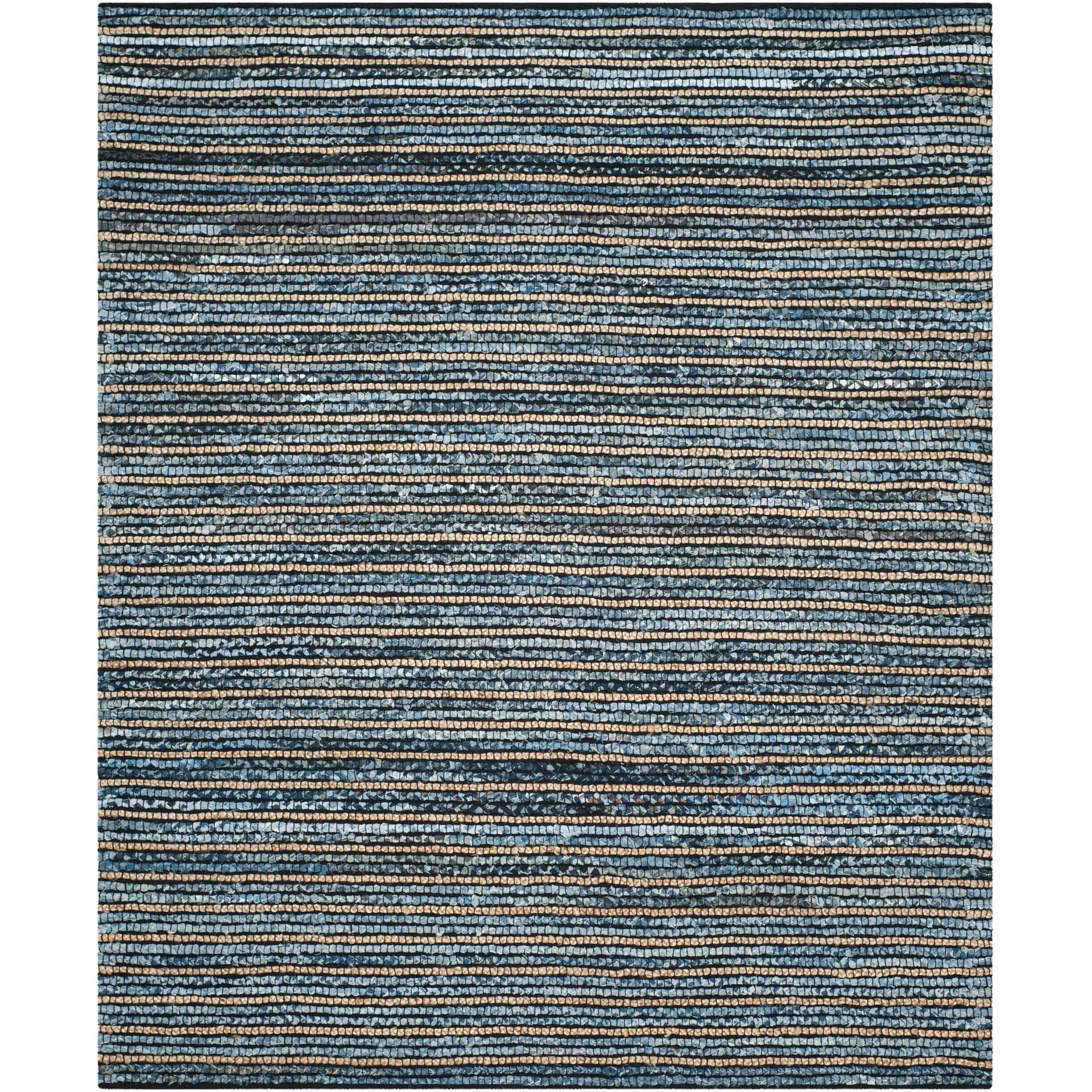 Cape Cod Stripe Blue/Natural Area Rug
