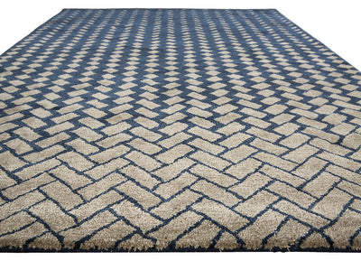 Cascade Silas Blue/White Area Rug
