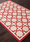 Catalina Moroccan Mosiac Red Area Rug