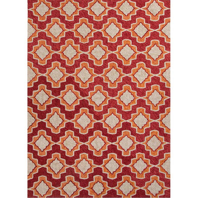 Catalina Temple Orange Area Rug