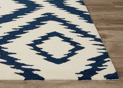 Catalina Barberry Ivory/Blue Area Rug