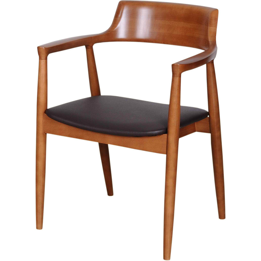 Adrian Arm Chair Brown