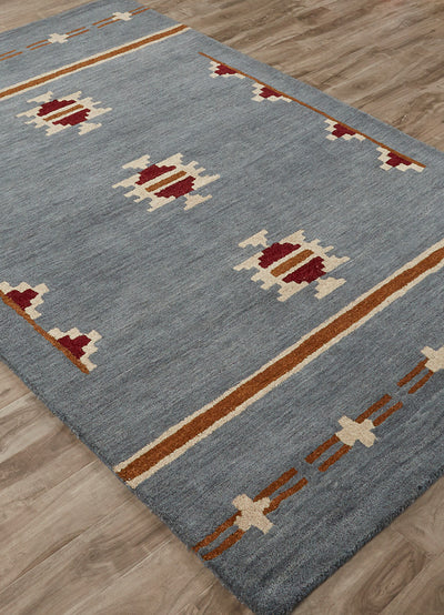 Cabin Fir Blue/Tan Area Rug
