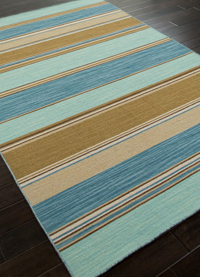 Coastal Shores Captiva Aqua Sky Area Rug