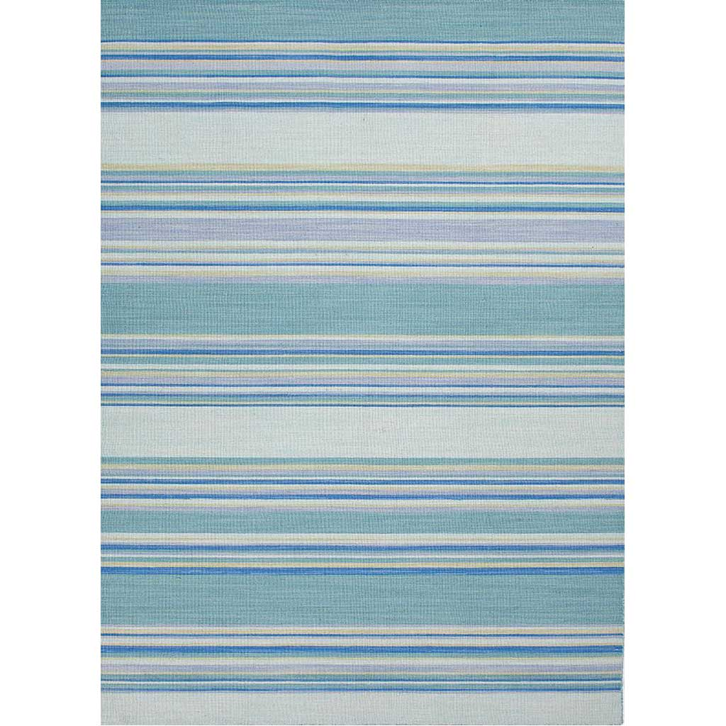 Coastal Shores Kiawah Porcelain Blue Area Rug