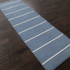 Coastal Shores Cape Cod Dark Denim Runner Rug