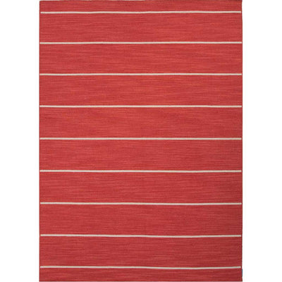 Coastal Shores Cape Cod Aurora Red/White Ice Area Rug