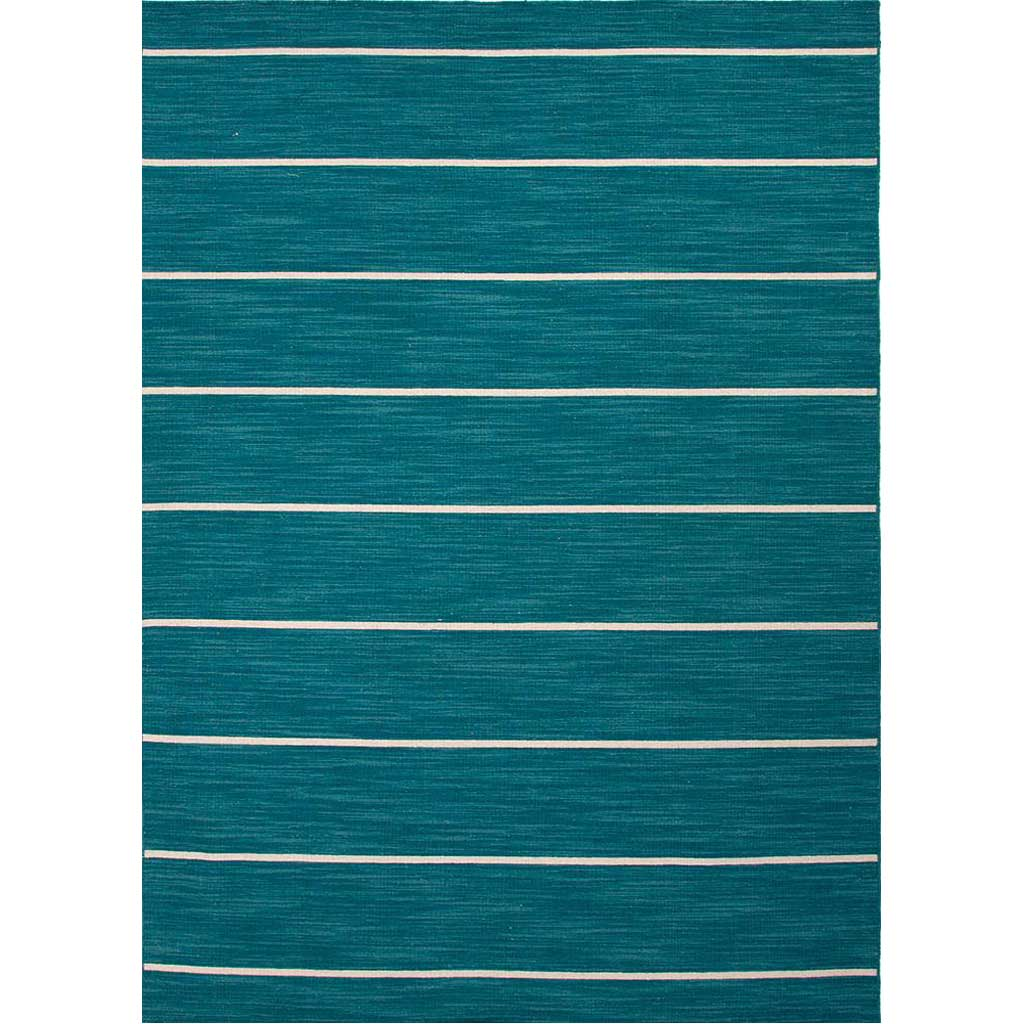 Coastal Shores Cape Cod Deep Lake/White Ice Area Rug