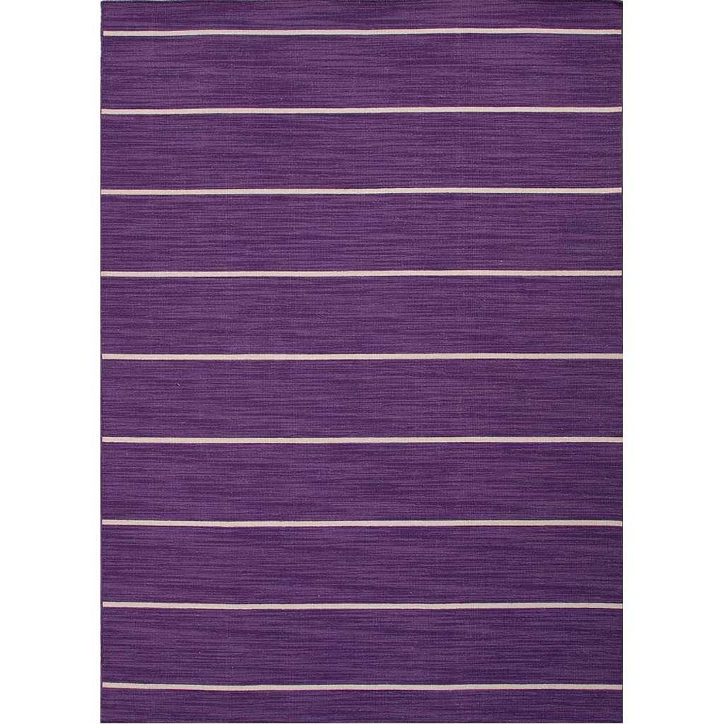 Coastal Shores Cape Cod Patrician Purple/White Ice Area Rug