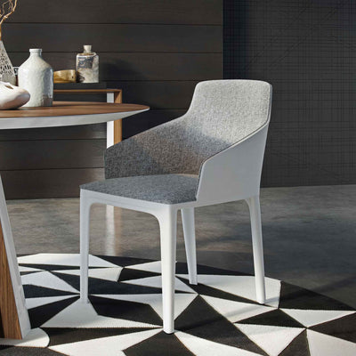 Oxford Dining Chair Gray Denim/Alpine