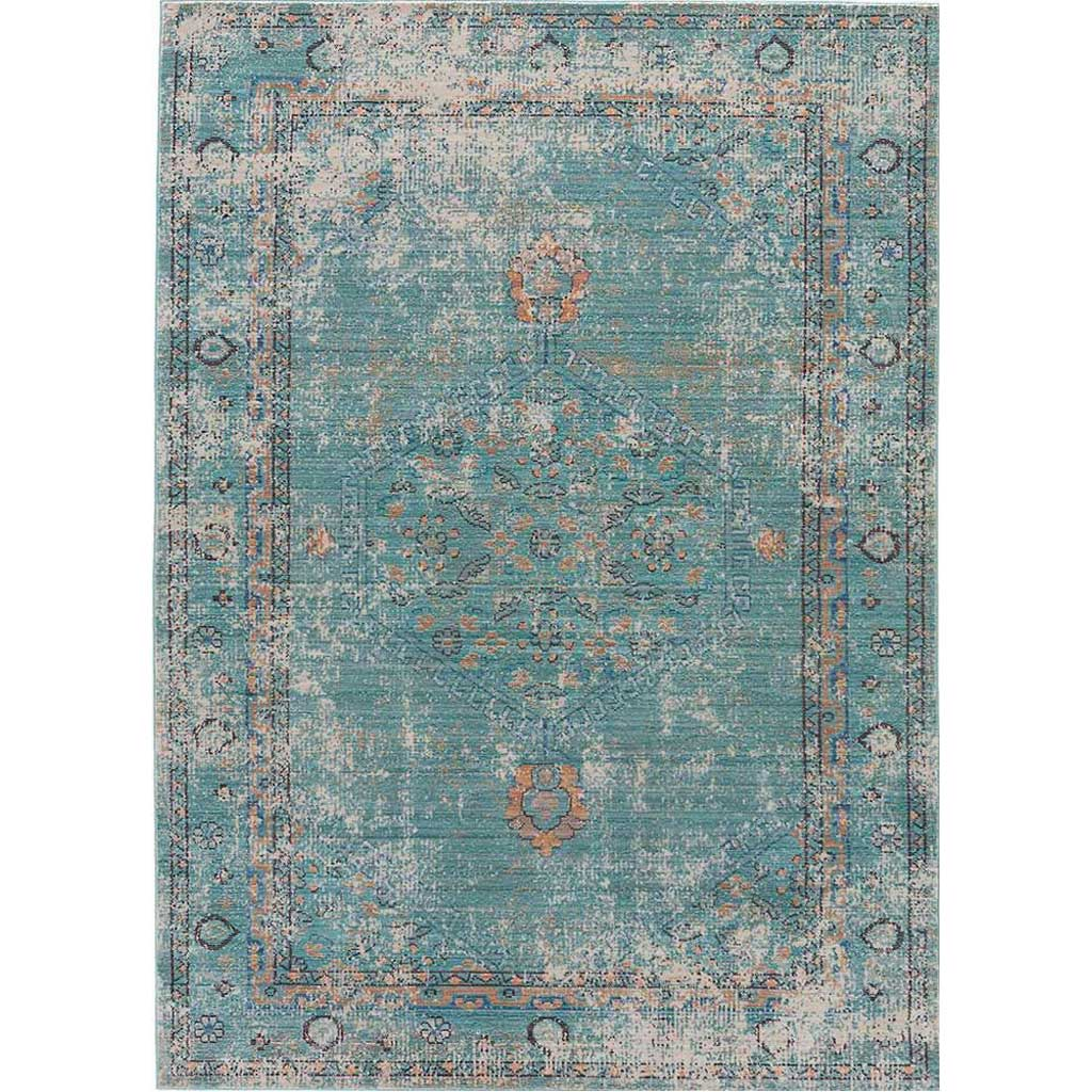Ceres Eris Gray/Blue Area Rug
