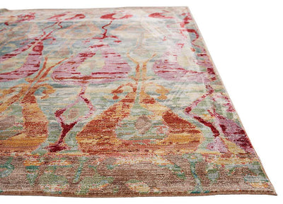 Ceres Varuna Blue/Pink Area Rug