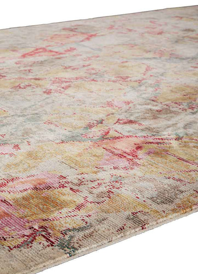 Ceres Ixion Pink/Brown Area Rug