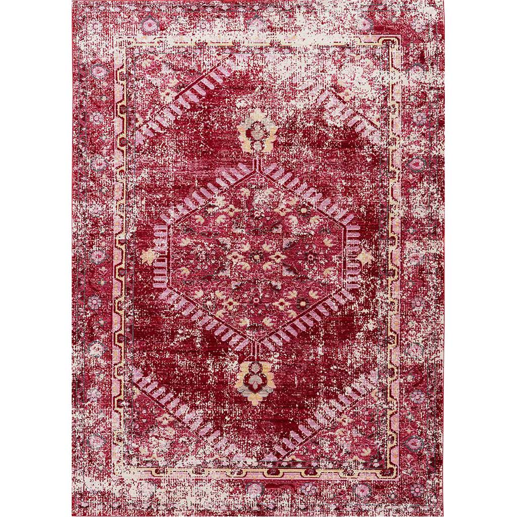 Ceres Eris Red/Pink Area Rug