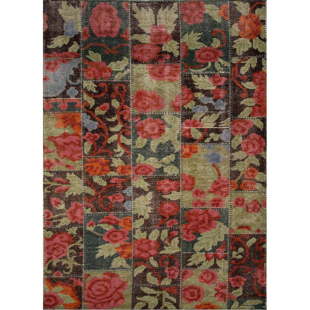Cheshire Rosa Rapture Rose/Ketchup Area Rug