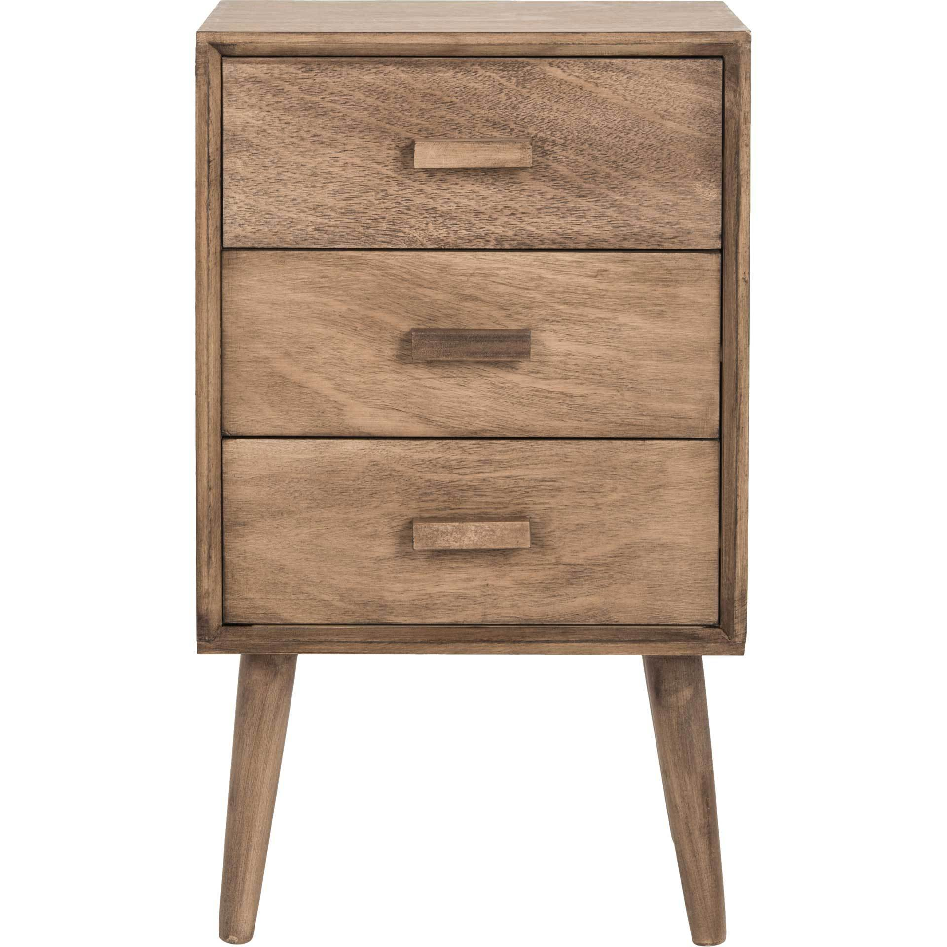 Porter 3 Drawer Chest Desert Brown