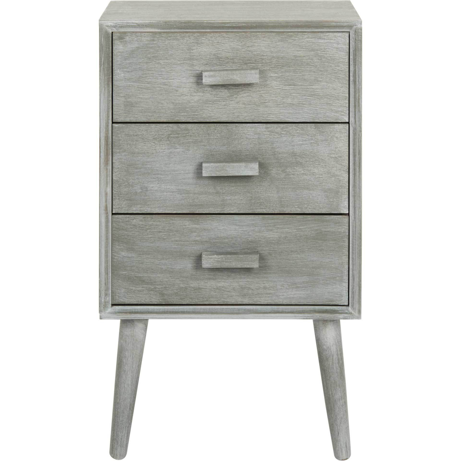 Porter 3 Drawer Chest Slate Gray