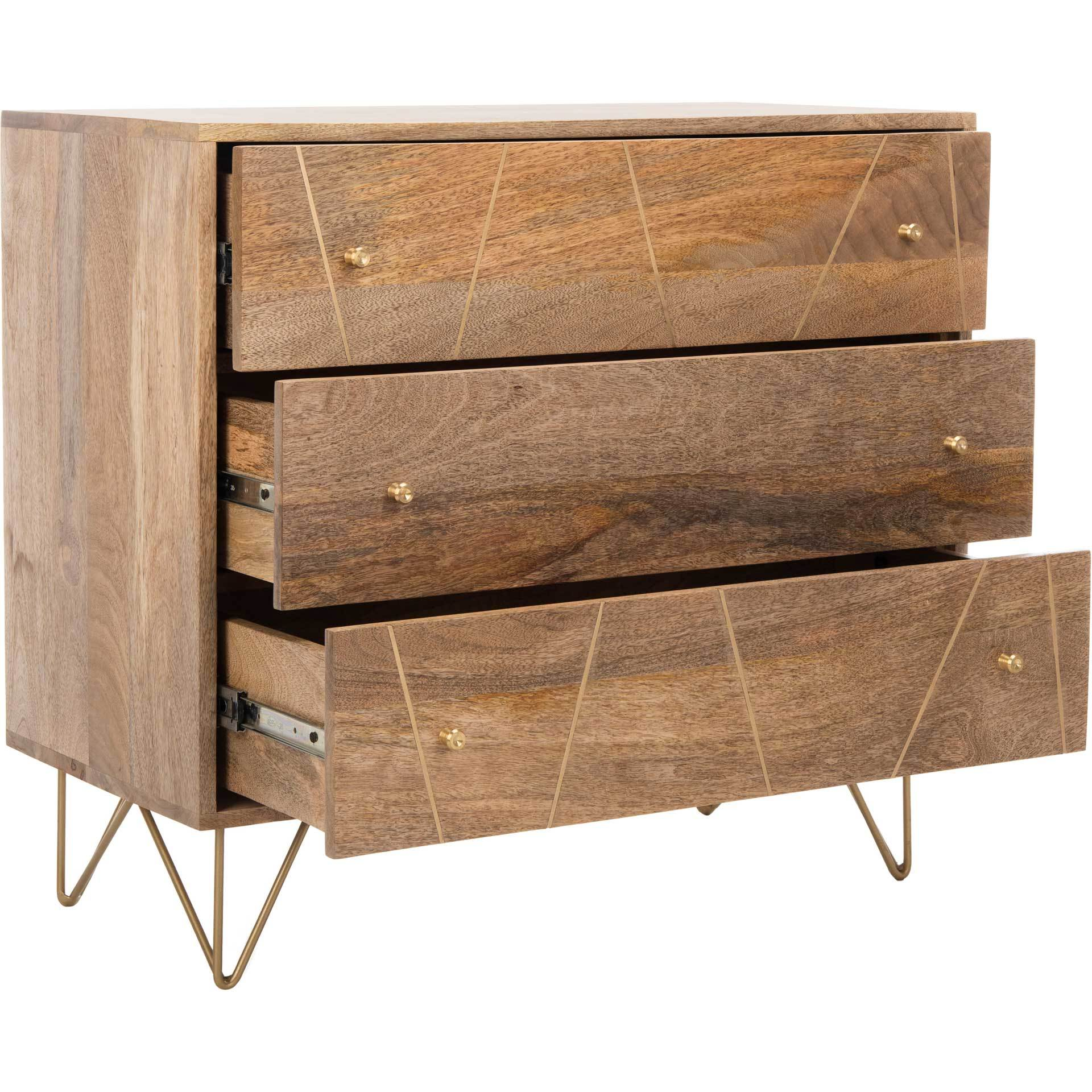 Macey 3 Drawer Chest