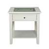 Pastoral End Table Off-White
