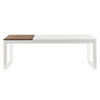 Lydock Coffee Table White