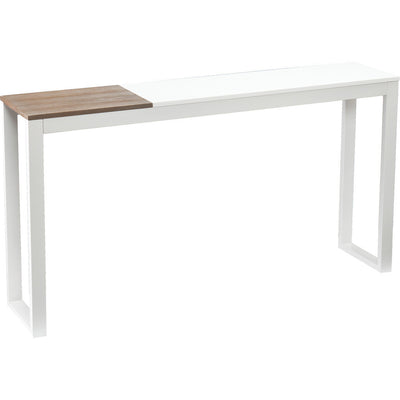 Lydock Console Table White