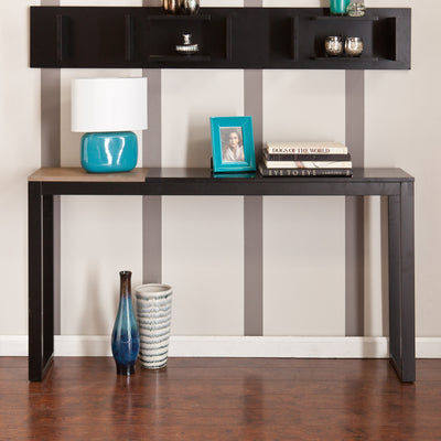 Lydock Console Table Black