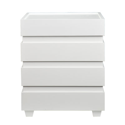 Lavrock End Trunk White