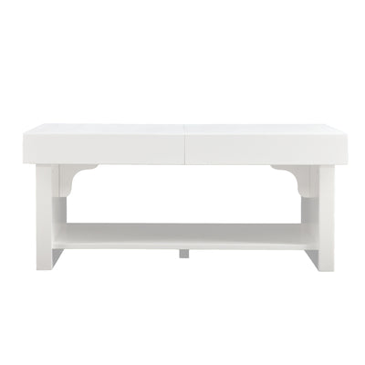 Glidick Coffee Table White