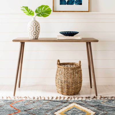 Mathew Console Table Desert Brown