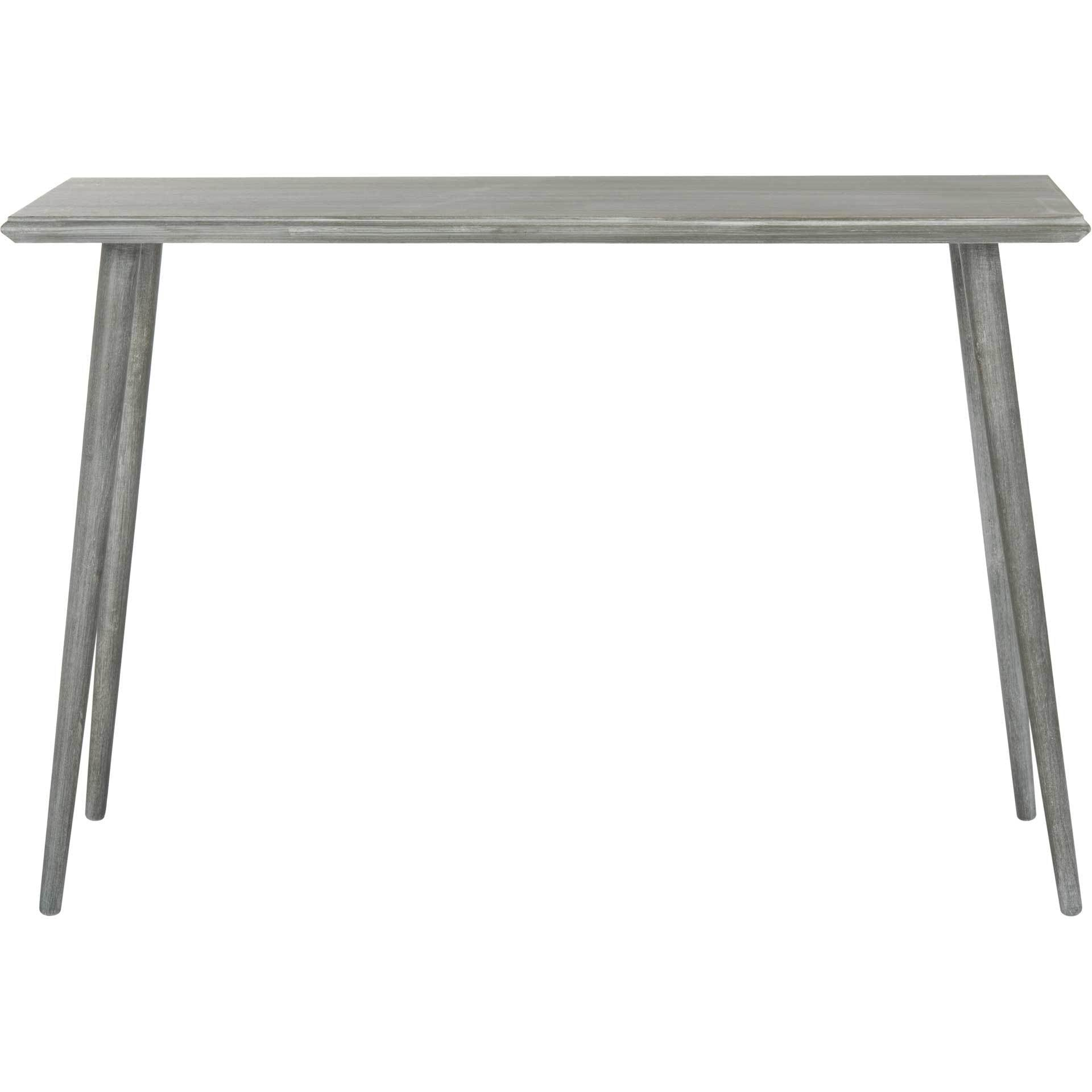 Mathew Console Table Slate Gray