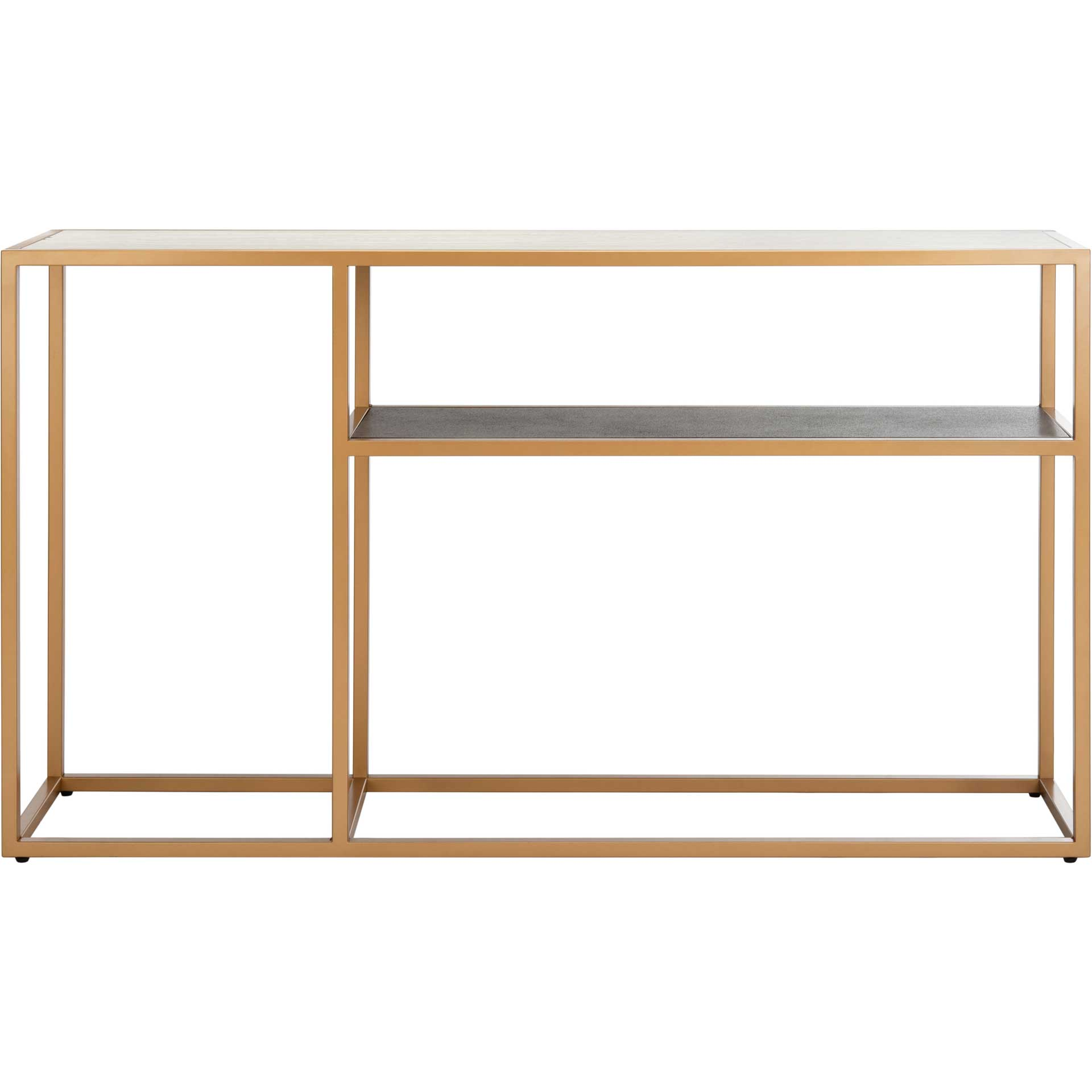 Octavia Console Table Multi/Gold