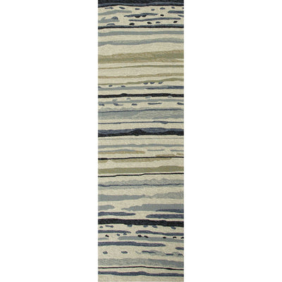 Colours Sketchy Lines Classic Gray Runner Rug