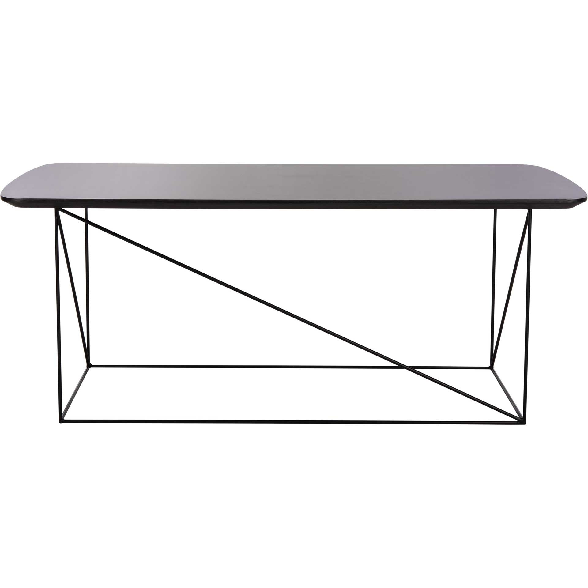 Ryder Coffee Table Gray/Black
